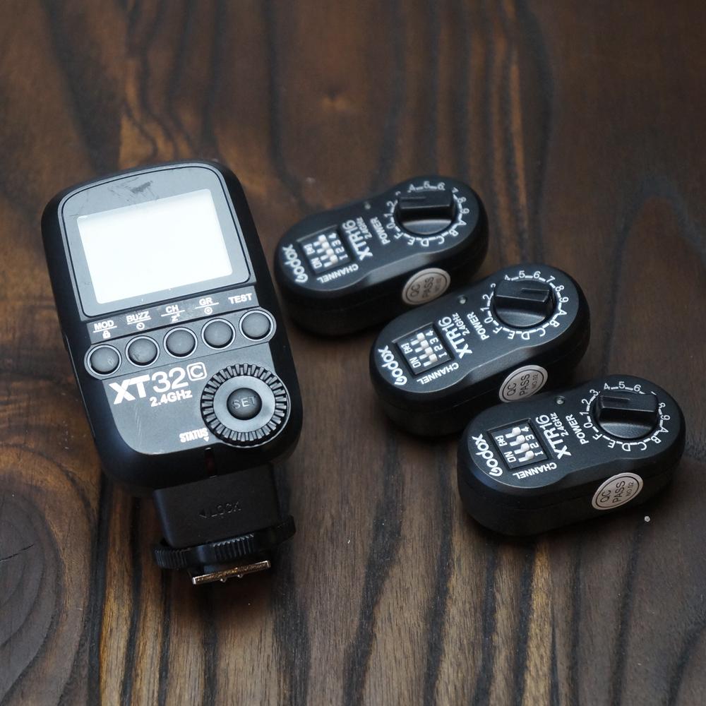ストロボ用FM送受信機